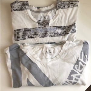 Bundle 2 Armani Exchange Shirts